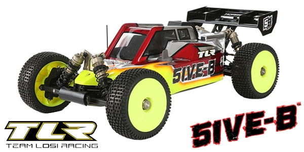 TLR 5IVE-B Tuning