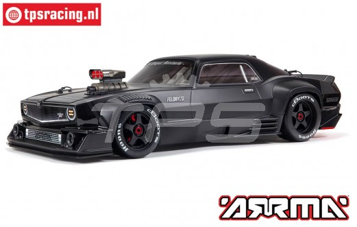 ARA7617V2T1 ARRMA FELONY 6S BLX 1/7 Muscle Car, Black