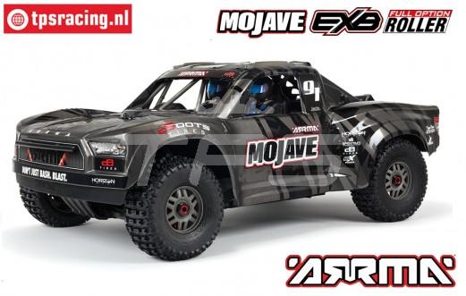 ARA7204 ARRMA 1/7 Mojave 4X4 EXB BASH ROLLER Black