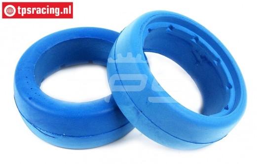 TPS2357 HQ Tyre Foam Bleu Ø120-Ø190-W75 mm, 2 pcs