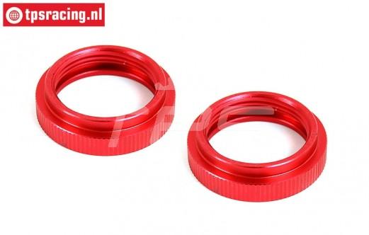 BWS55045R Shock Adjust nut Red Ø24 mm, 2 pcs