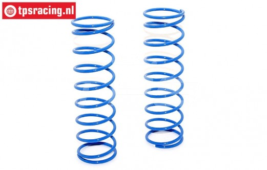 BWS55051/01B Shock spring rear Bleu Ø2,9-L130 mm, 2 pcs.