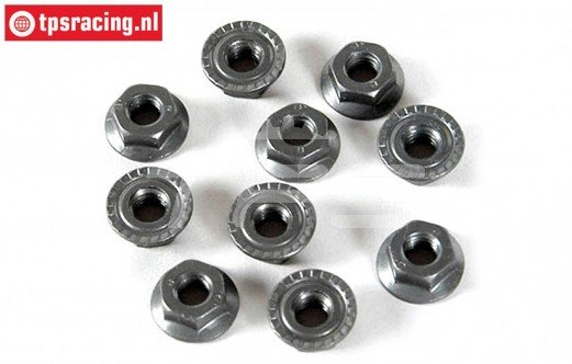 FG6113 Steel locking nut M6R, 10 pcs.