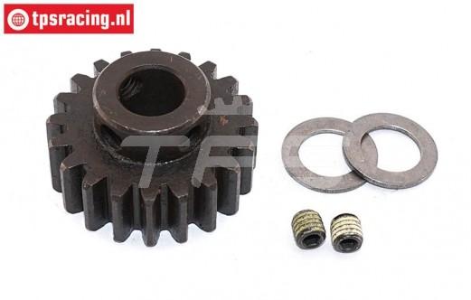 FG6433 Steel gear 20T wide Ø10-B12 mm, 1 pc