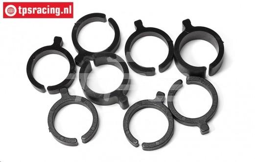 FG6445 Spring tension adjustment clip, Ø20 mm, 8 pcs