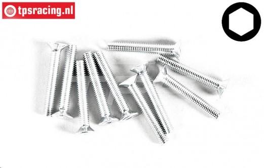 FG6719/20 Countersunk head screw M3-L20 mm, 10 pcs.