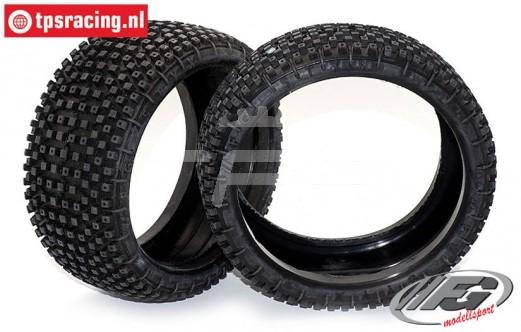 FG67218M Styx Tyres Medium, (Ø130-B65), 2 pcs.