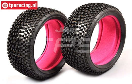 FG67218MI Styx Medium Tyres with foam, 2 pcs.