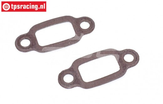ZN0010 Zenoah Exhaust gasket-steel core, 2 pcs.