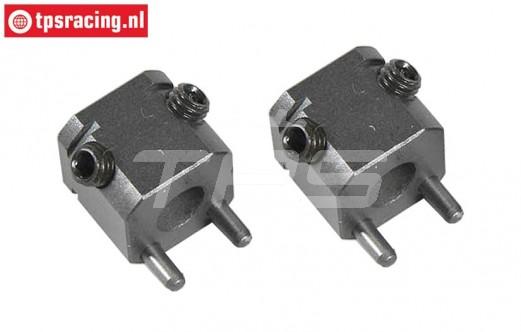 FG8407/02 Steel wheel square W17 mm, 2 pcs.