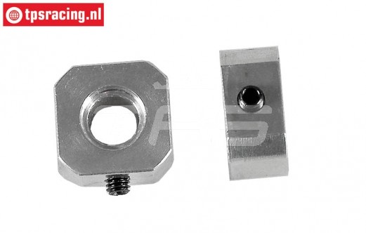 FG8610/03 Alloy Wheel square L9,5 mm, 2 pcs.