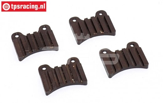 FG9439/36 Mecatech Steel brake lining, 4 pcs.