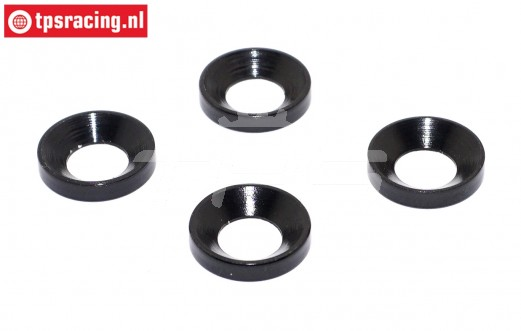 TPS50504 Engine mount washer HPI-Rovan, 4 pcs.