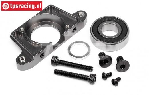 HPI87559 Alloy Spur gear mount HD, Gun-Metal, Set