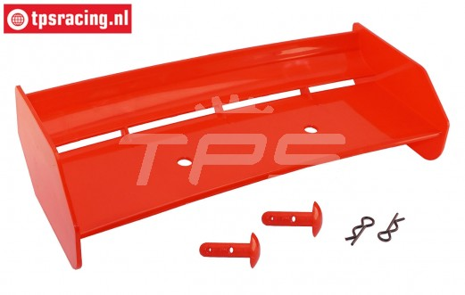 TPS85451/20 Nylon rear Wing Red HPI-Rovan, Set