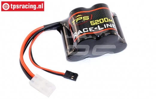 TPS5200/HP Racing-Line Hump Pack battery 5200 mAh 6.0 Volt 15C, 1 pc.