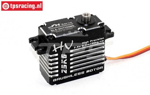 JX BLS-HV7125MG High Torque Brushless servo 25T, 1 Pc.