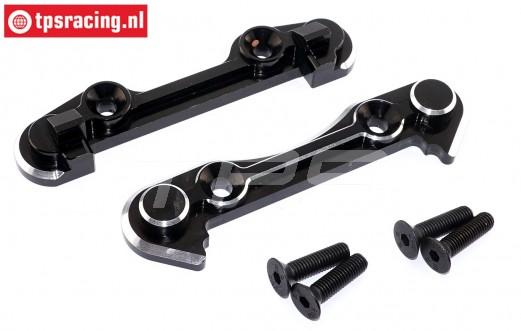 TPS7050/14 Alloy Hinge pin brace front LOSI-BWS, Set
