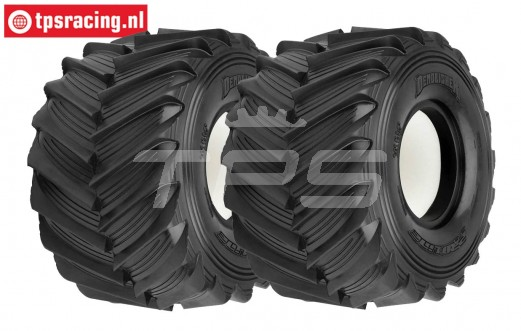 PRO10187-00 Pro-Line Demolisher tire LMT Truck, 2 pcs.