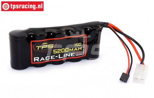 TPS5200/SP Racing-Line battery 5200 mAh 6.0 Volt 10C, 1 pc.