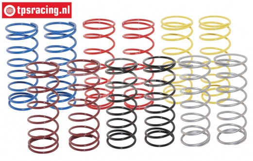TPS0352 HD Shock spring Short LOSI-BWS, 12 PCS.