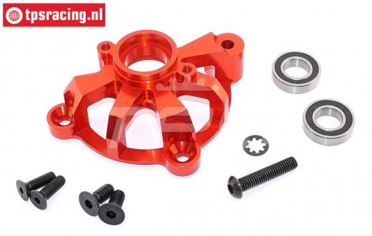 TPS5113/03 Alloy spur gear mount red, Set