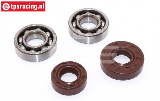 ZN0015S Zenoah-Viton Crank case Tuning bearing, Set