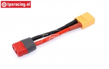 TPS4018 Adapter cable AMASS female-XT60 male, 1 pc.