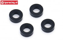 BWS51083/04 Lower Shock bushing BWS-LOSI, 4 pcs