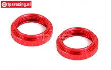 BWS55045R Shock Adjust nut Red Ø24 mm, 2 pcs