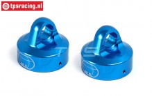 BWS55044B Upper Shock Closure Bleu Ø24 mm, 2 pcs.