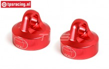 BWS55044R Upper Shock Closure Red Ø24 mm, 2 pcs.