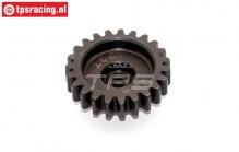 BWS55063 Hardened Gear 23T, (5B-5T-MINI-BWS), 1 pc.