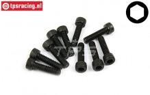 BWS56010 Socket Head Screw M5-L20 mm, 10 pcs