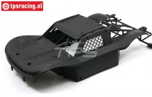 BWS59002/04 Body Elasto-Flex Black BWS-LOSI, Set
