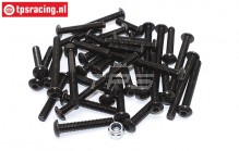 BWS59082/01 Roll Cage screws BWS-LOSI, Set