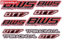 BWS DTT-7 Decals, 1 pc.