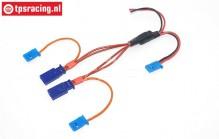 TPS0528 Silikonen Direct voltage cable Gold L30 cm, 1 pc.