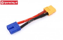 TPS4014 Adapter cable EC3 male-XT60 female, 1 pc.