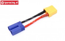 TPS3016 Adapter cable EC5 male-XT90 female, 1 pc.