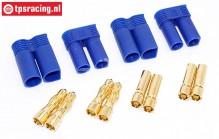 TPS83503 EC5 Gold Plugs Ø5,0 mm, 4 pcs