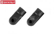 FG10088 Lower shock retaining L18 mm, 2 pcs.
