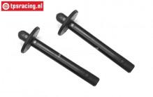 FG3023 Body support (Ø10-L75 mm), 2 pcs.
