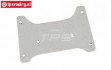 FG60235/01 Roll cage roof plate 1/6 Buggy WB535, 1 pc.
