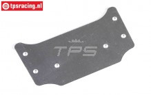 FG60235 Roll cage roof plate 1/6 Buggy, 1 pc.