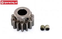 FG6046 Steel gear 14T wide, 1 pc