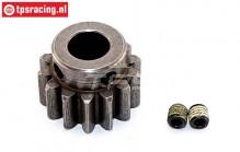 FG6047/01 Steel gear 15T wide, 1 pc.