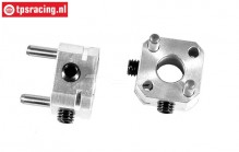 FG6106/07 Alloy Wheel square with pin W11,5 mm, 2 pcs