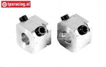FG6107/01 Alloy Wheel square, L14 mm, 2 pcs