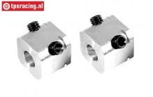 FG6107/02 Alloy Wheel square, L17 mm, 2 pcs